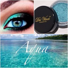 #60 Aqua Eye Shadow of Da Vinci Cosmetics - Mineral Beauty Products