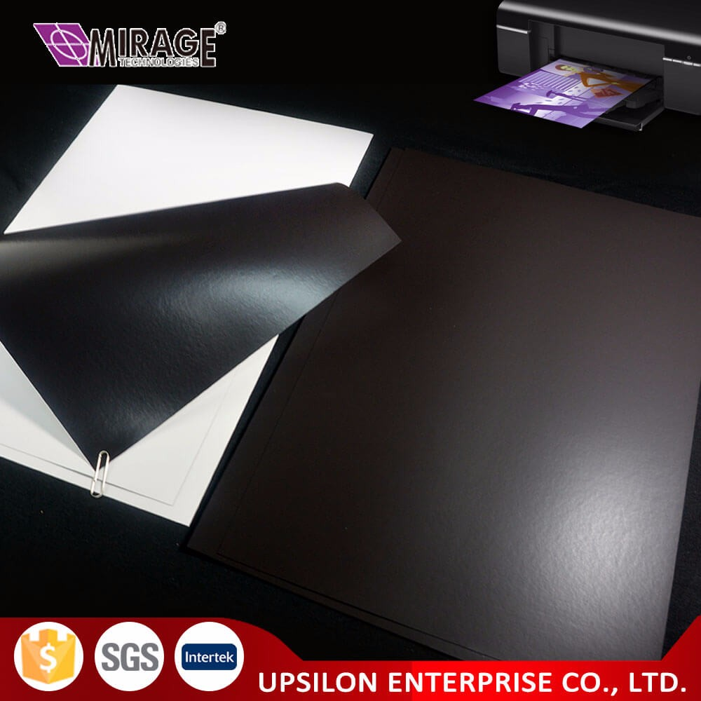 Custom Cutting A4 Size Inkjet Rubber Paper Magnetic Sheet