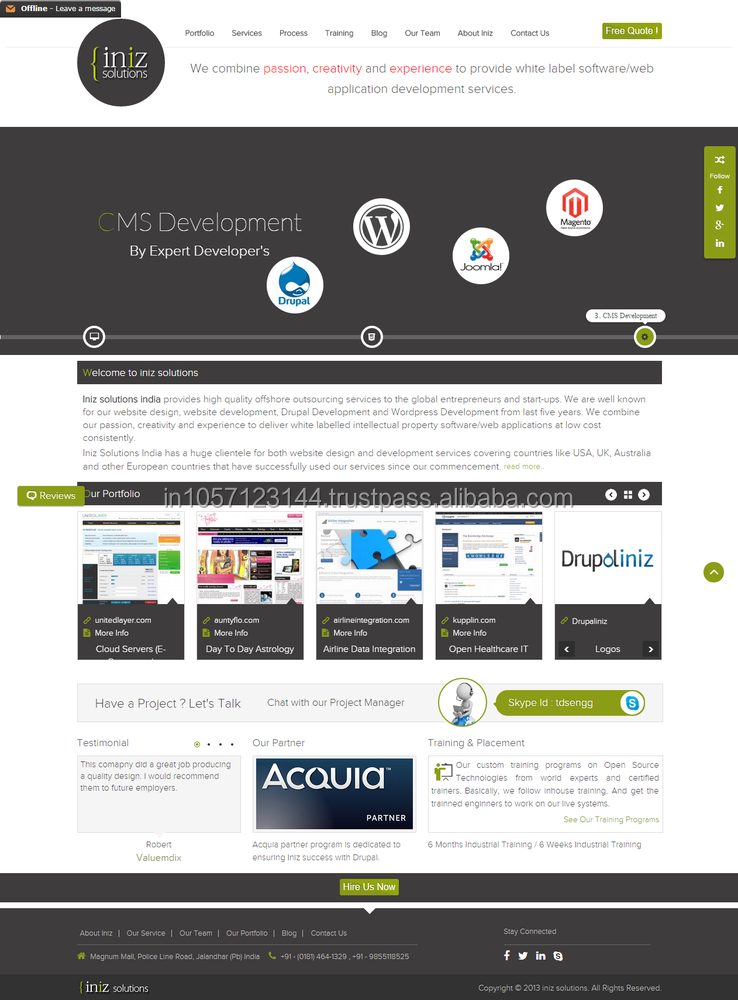 web design and development hourly, IT Partner india, Sotware support partners
