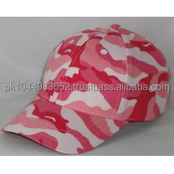 Pink Camouflage Baseball Caps For Girls/High-Quality-Summer-Style-Baseball Cap/Men-Women Baseball Cap