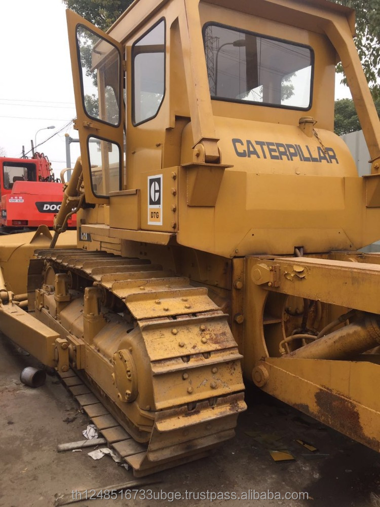Japan Caterpillar D7G bulldozer for sale , used D7g cat dozers cheap price
