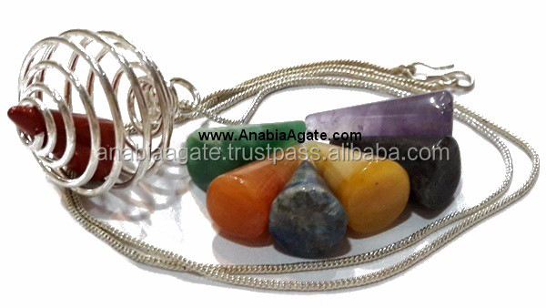 Chakra Pencil with cabs Set : Top Quality Chakra Set Available online