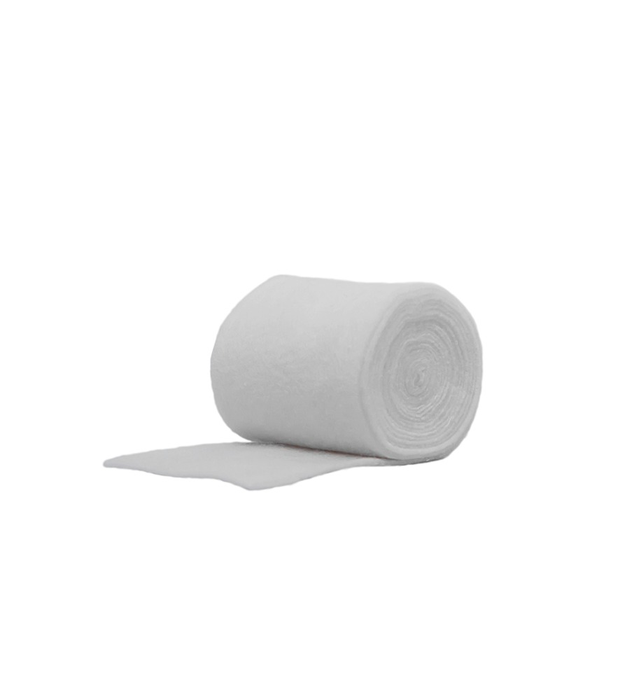 absorbent pure cotton orthopedic cast bandage padding roll