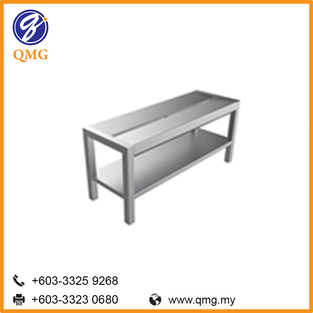 Shoe Bench (Stainless Steel)
