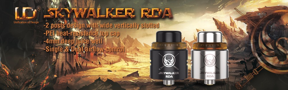 electronic products newest ecig tank vape rda Youde Skywalker RDA