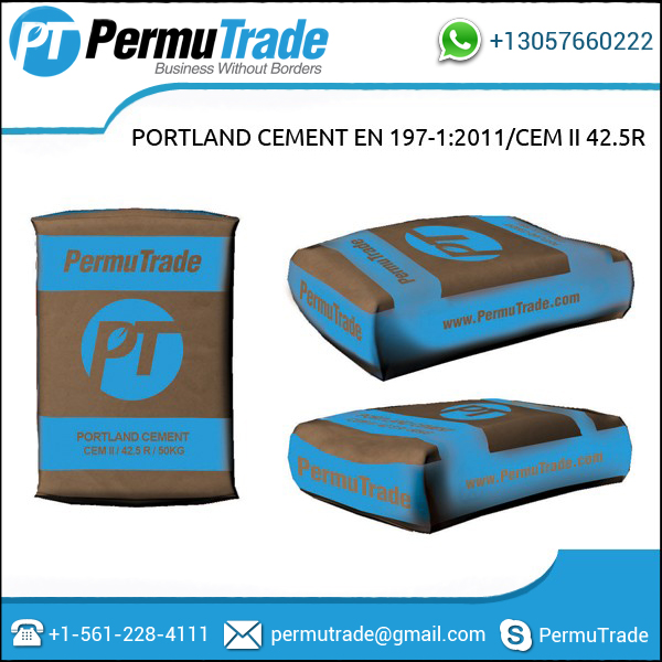 Portland Cement EN 197-1:2011/CEM I 42.5R - Turkey
