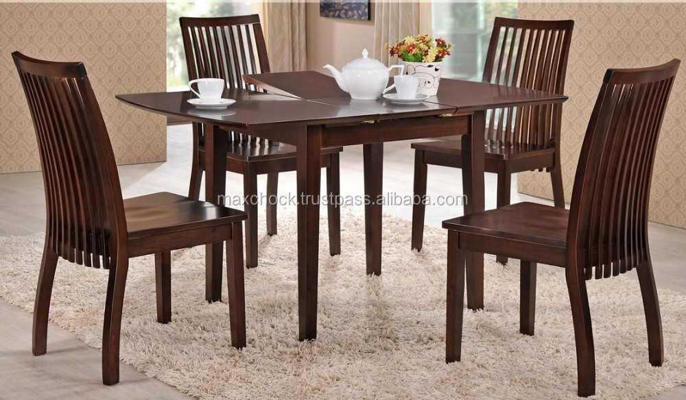 CALI extendable modern solid timber dining set