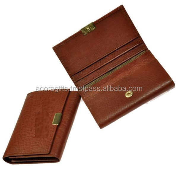 Credit card case/card case a5/genuine leather card holders