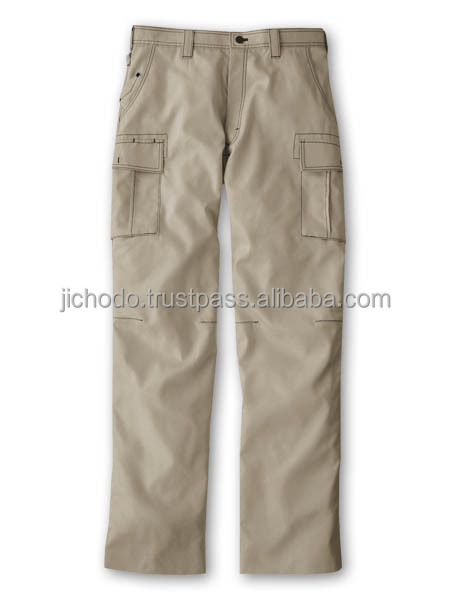 Work wear pants pockets ( flat front ). Made by Japan