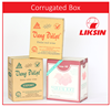 High quality & Best service Corrugated Box Packaging for Beverage / Carton box