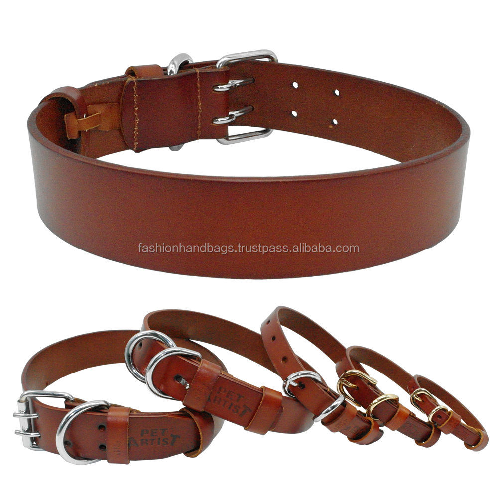 Latest designer dogs 100% genuine leather collars & Leashes