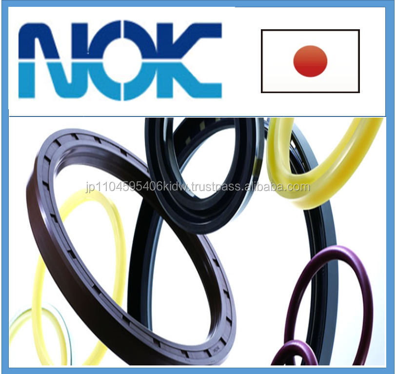 Reliable and High precision viton oil NOK seal for industrial use made in Japan