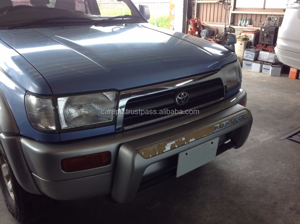 SECONDHAND CARS FOR SALE FOR TOYOTA HILUX SURF KD-KZN185W 1996 AT EXPORT FROM JAPAN