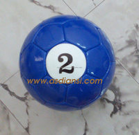 poolballs snookball A Complete set of Billiard Soccer Balls outdoor game