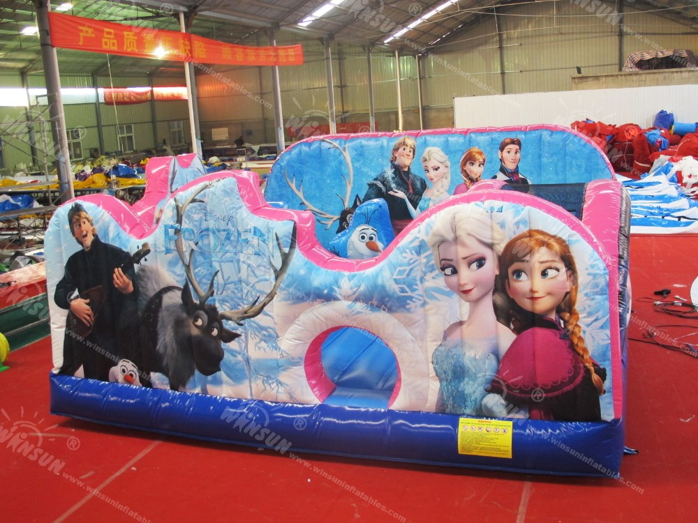 Toddler town commercial Frozen inflatable jumping castle for sale