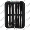Blackhead Extractors Delicate Stainless Steel Facial Blackhead Blemish Remover & Acne Pimple Pin Kits