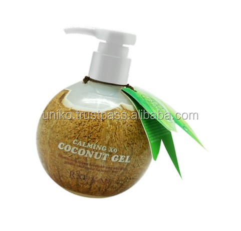 Skin care moisture RXU coconut efficacy of calming X9 skincare Coconut Gel Lotion