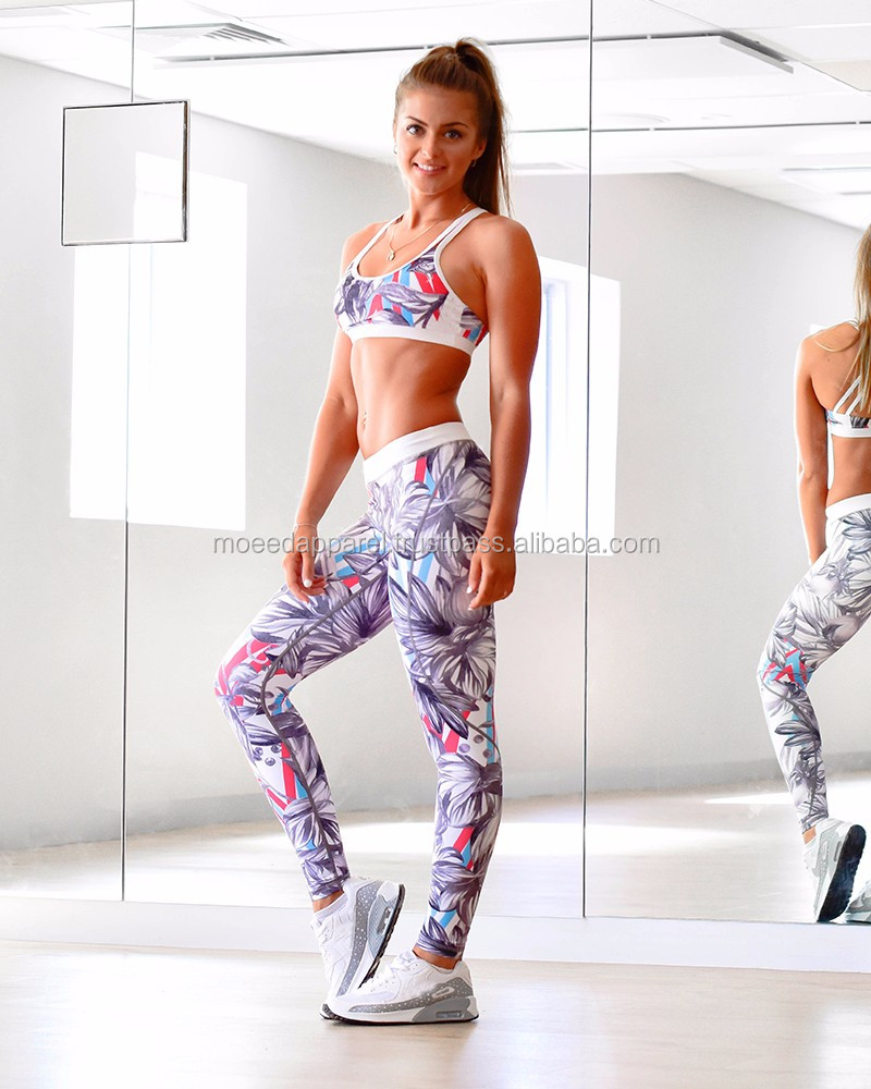 Sublimation Printed Compression Tights