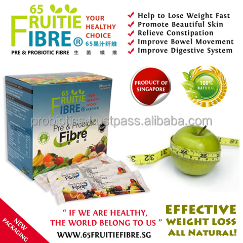 Healthy Weight Loss And Dieting Tips - 65FruitieFibre Loss Weight Probiotics - 10 + 1 Box FREE Combo Package - Wholesale