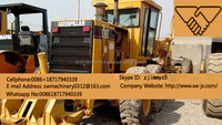 american made used cat 140H motor grader new arrival in china