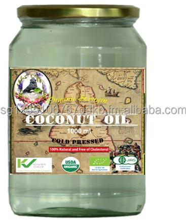 Taprobane Organic Cold Pressed Virgin Coconut Oil