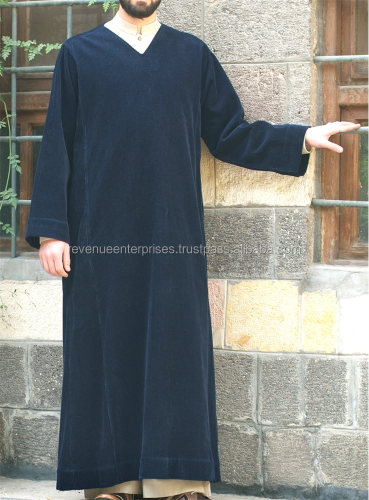 High quality wholesale price abaya for adults/Wholesale price high quality men's abaya
