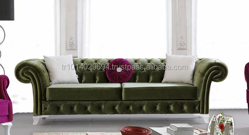 Turkish Furniture Living Room Classic Sofa Set Gold Chester 2 Buy Living Room Set Turkish
