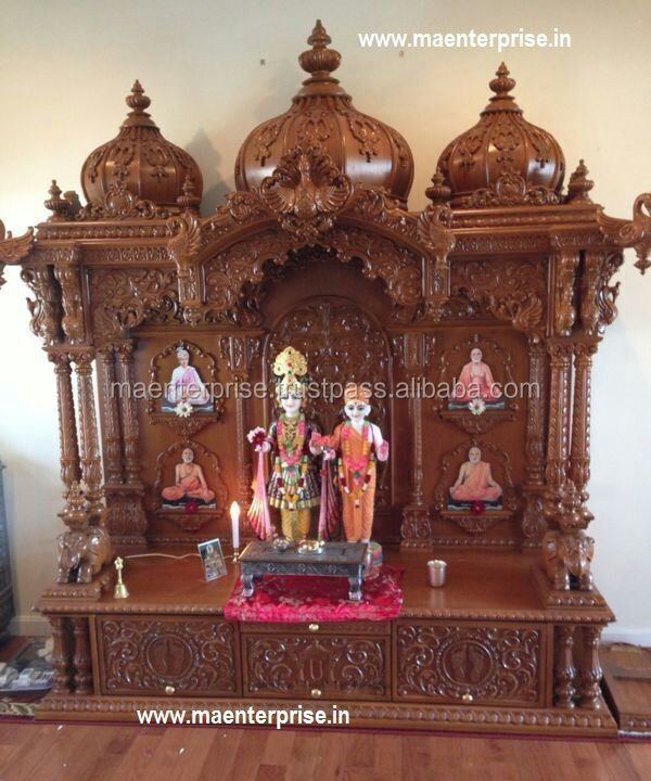 Indian pooja Mantap wooden temples for home