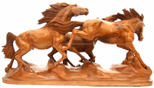Wooden Horse Statue Folk Ethnic Tribal Art Sale , Handmade Wooden Carved Horse , hand carved wood horse , Antique Wood Horse