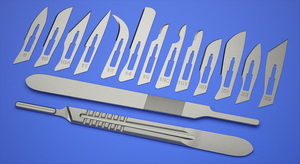 Surgical BP Handles Scalpel Handles & Blades Surgical Instruments