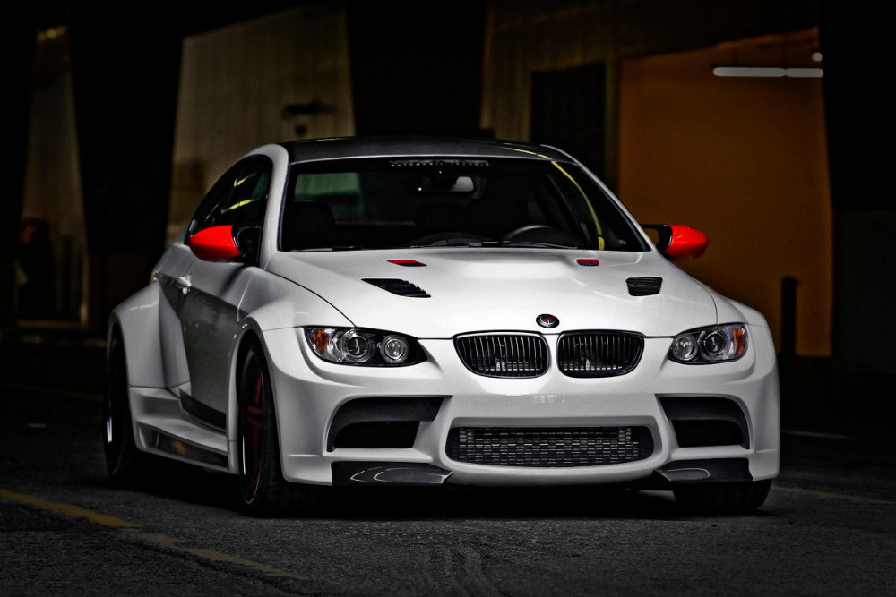 Body kit FOR Bmw 3 E92 E93 M3 GTR S3 VRS