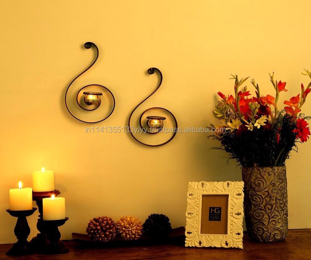 Magnificent Decorative Wall Sconces Plants Photo - Wall Art ...