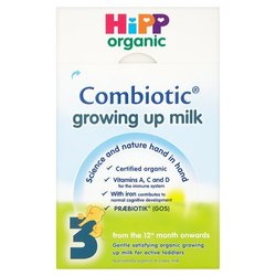 Hipp Organic Growing Up Milk Powder 12mth+ Stage 4 (600g)