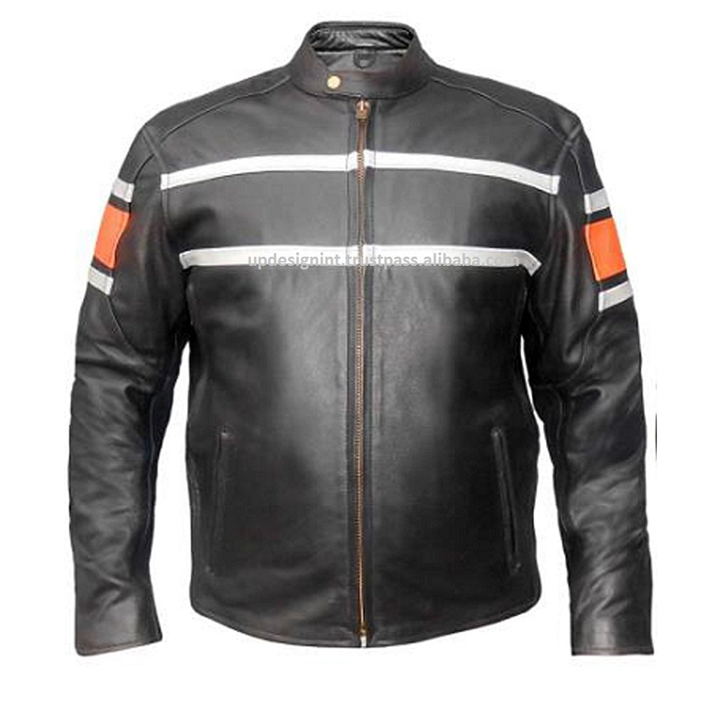 Custom made latest design motorbike jacket CE APPROVED PROTECTION/MOTORCYCLE RACING LEATHER JACKETS