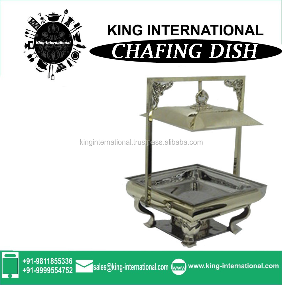 Induction cooker brass chafing dish with great price