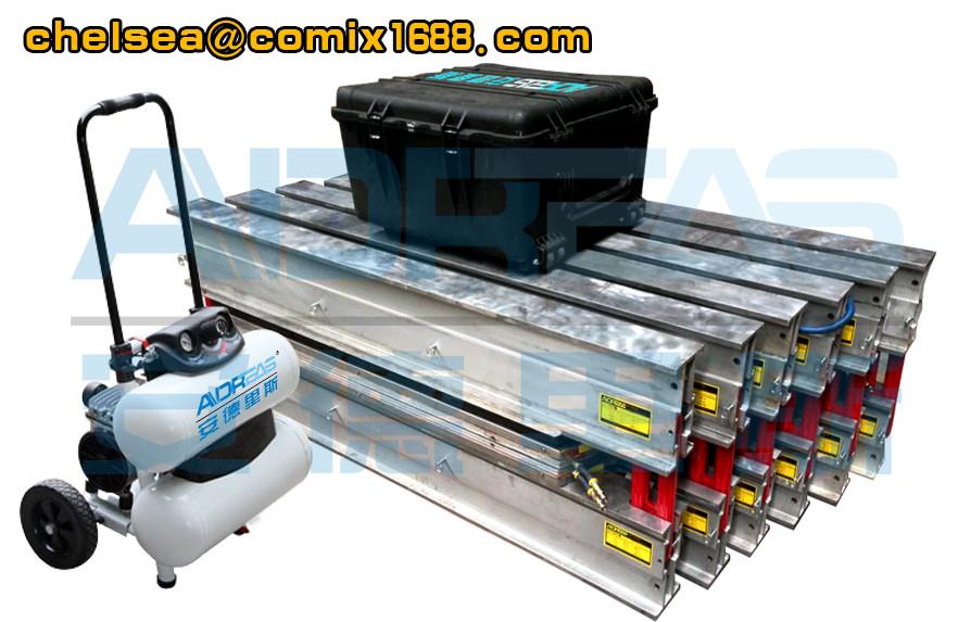 ADRS Conveyor belt vulcanizer/ vulcanizing press used to splice rubber belt easily