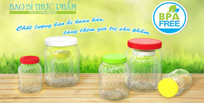 PET Plastic Jar No.274 No.275 No.276 Duy Tan Vietnam Asia Thailand Indonesia