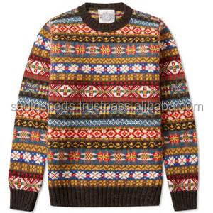 sweatrs for man full sleeve knit jackuard sweater