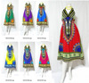 BOHO DASHIKI AFRICAN ART JUNGO BEACH COCKTAIL PARTY NIGHT V NECK COTTON DRESSES