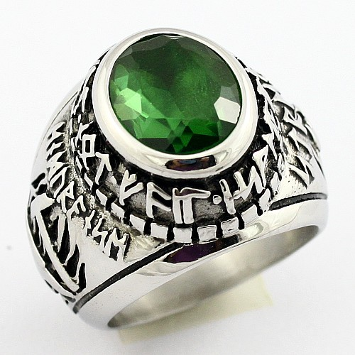 Custom Design Cheap Metal Mens Military Rings