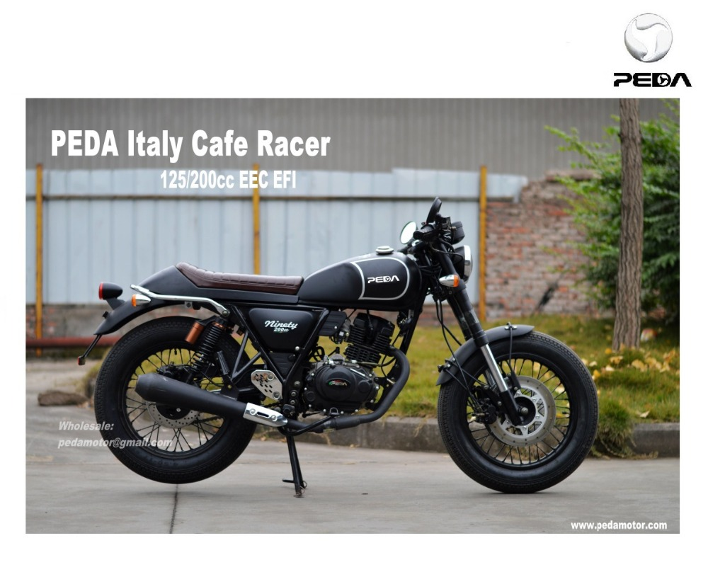(PEDA MOTOR ITALY) 2017 Cafe Racer Vintage Motorcycle classic motorbike 125cc EFI EURO 4 EEC Exclusive