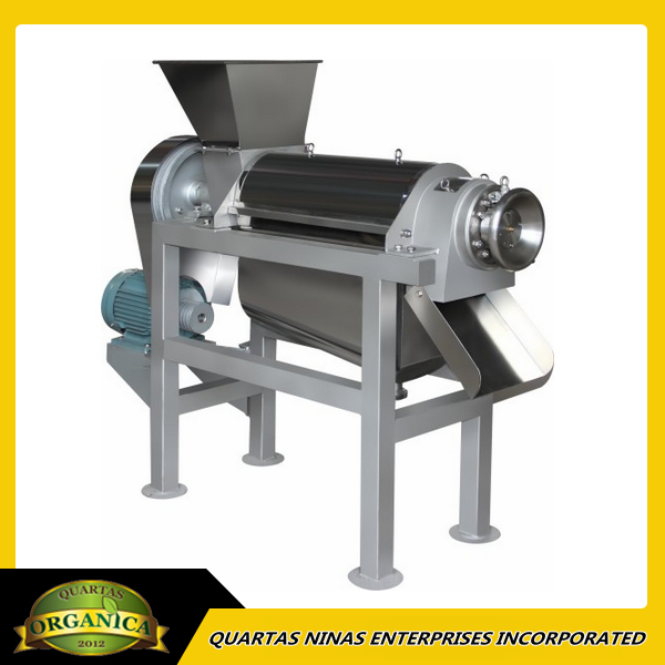 Coconut Milk Screw Press Extracting Machine
