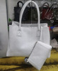Fashion Tote Bag With Little Pouch Handbag Leather