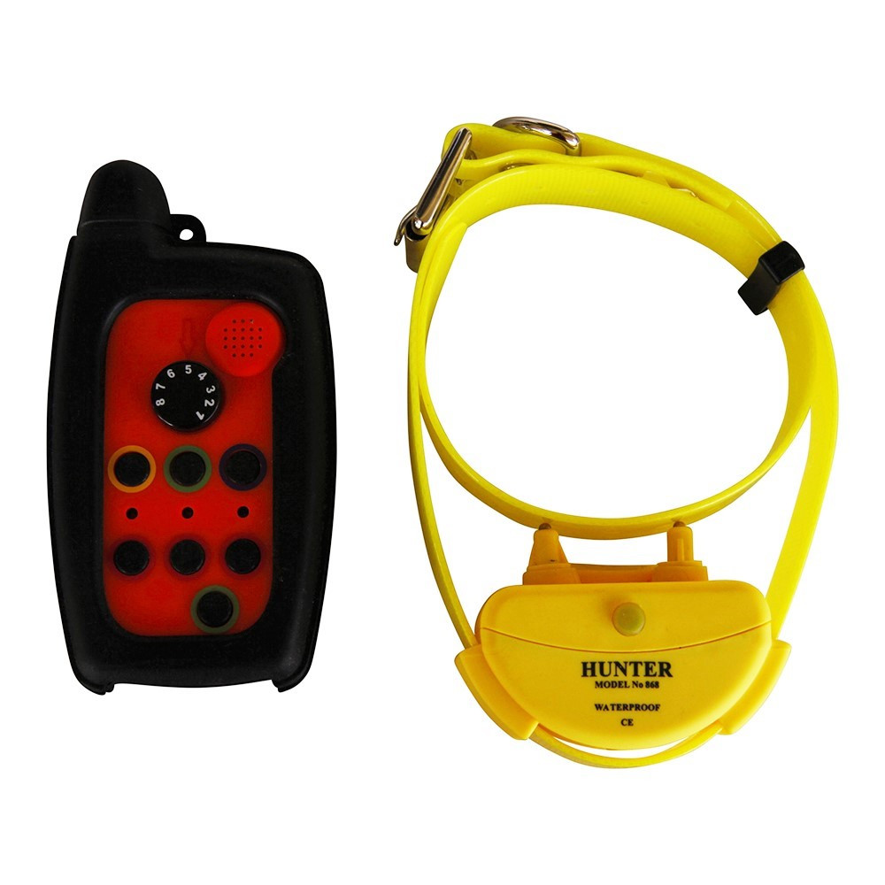 WATERPROOF IP67 DOG SHOCK TRAINING REMOTE COLLAR RANGE 2 KM