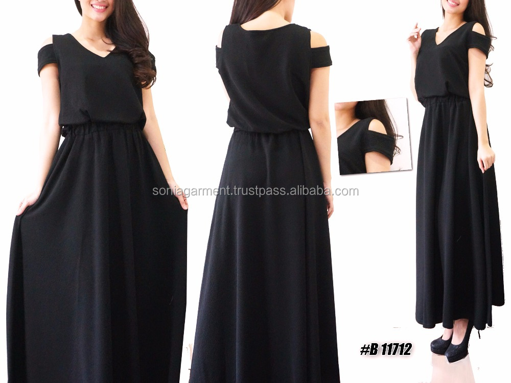 Muslim dress gamis abaya long maxi dress for women ladies fashion hot latest design