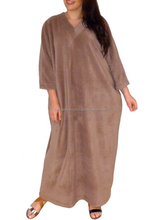 Winter muslim kaftan for women