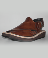 Pure Leather Men Peshawari Kaptaan Chappal