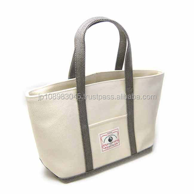 Japanese canvas cloth sail HANPU / HAMPU weekender bag made in Japan for wholesale