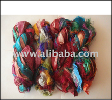 Designer Hot Selling Recycled Sari Silk Ribbon