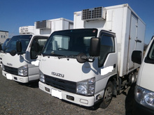 RIGHT HAND DRIVE USED CARS EXPORTED FROM JAPAN FOR ISUZU ELF TRUCK 2009 (MODEL : BKG-NKR85AN, ENGINE : 4JJ1)
